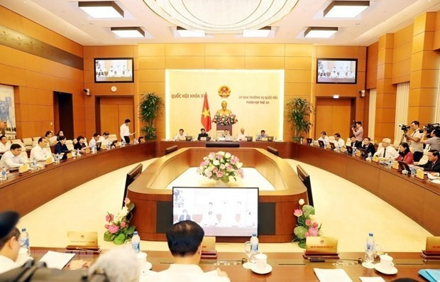National Assembly Standing Committee opens 35th session - ảnh 1