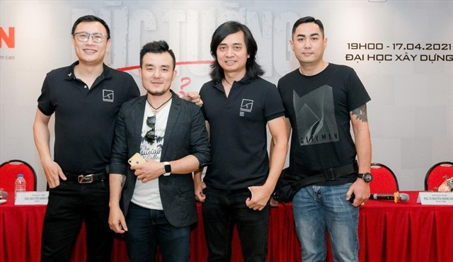 Rock band The Wall to play concert at university - ảnh 1