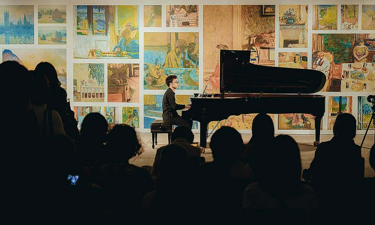 German, Vietnamese artists perform reconnecting music with live concerts - ảnh 1