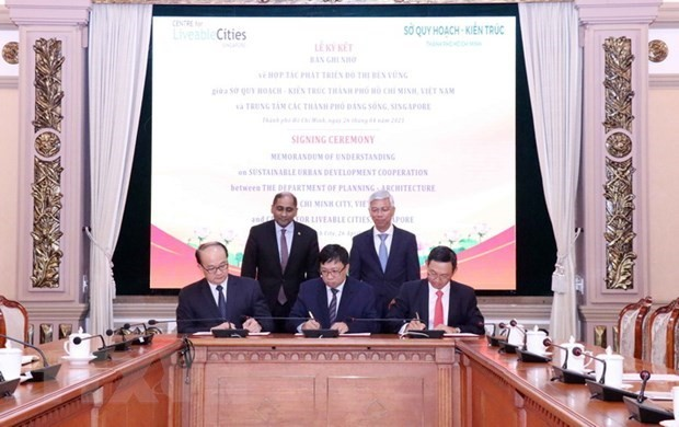 HCM City, Singapore cooperate in urban planning - ảnh 1