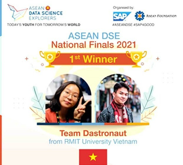 RMIT University to represent Vietnam at ASEAN Data Science Explorers Regional Finals - ảnh 1