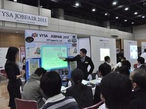 ตลาดนัดแรงงานสำหรับนักศึกษาและวัยรุ่นเวียดนามที่กำลังศึกษาในญี่ปุ่น - ảnh 1