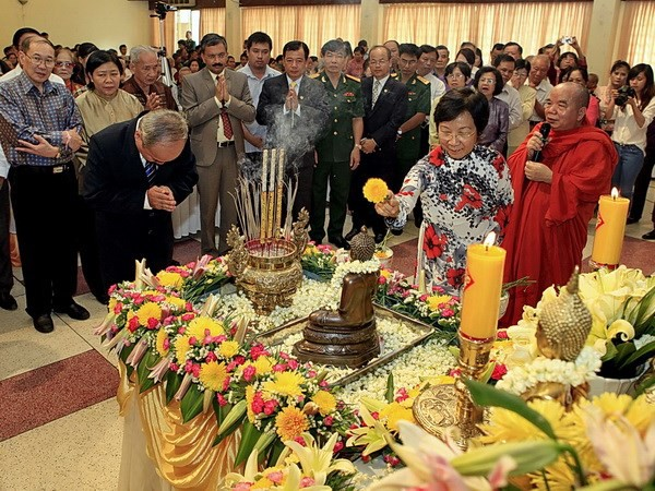 เทศกาลปีใหม่ลาว ไทย กัมพูชาและพม่า - ảnh 1