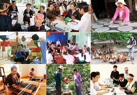 เป้าหมายของโครงการแก้ปัญหาความยากจนต้องถูกระบุในโคว์ตาและแผนพัฒนาเศรษฐกิจสังคม - ảnh 1