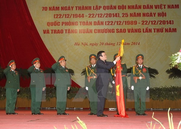 เวียดนามผลักดันการสร้างสรรค์กองทัพประชาชนเวียดนามให้กลายเป็นกองกำลังปฏิวัติที่แบบแผนและทันสมัย - ảnh 1