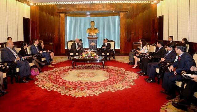 ความสัมพันธ์ระหว่างเวียกนามกับสหรัฐด้านการค้า - ảnh 1