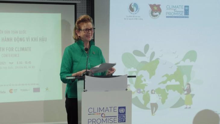 Молодежный форум, посвященный изменению климата - ảnh 1
