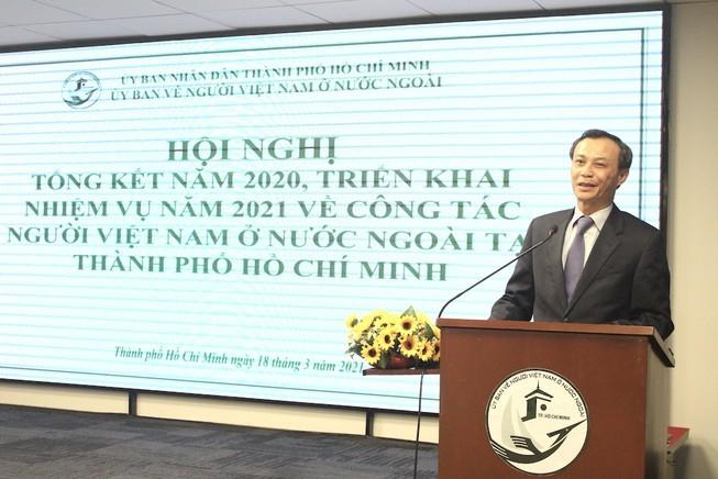 Город Хошимин повышает эффективность работы с вьетнамцами, проживающими за границей - ảnh 1