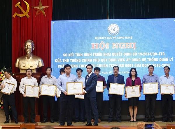 Вьетнам активно проводит реформирование административных процедур с помощью внедрения системы стандаров ISO - ảnh 1