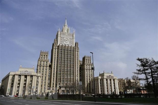 МИД РФ объявил о высылке 10 американских дипломатов - ảnh 1