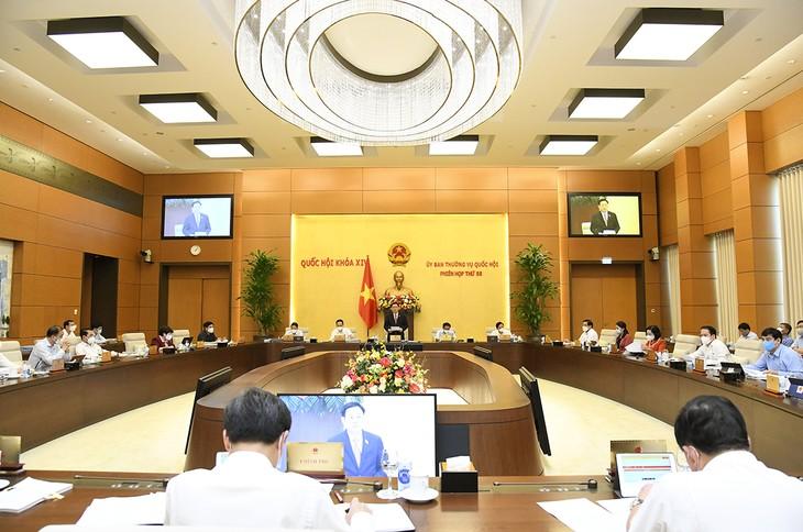 Постоянный комитет Национального собрания Вьетнама обсудил подготовку к 1-й сессии парламента - ảnh 1