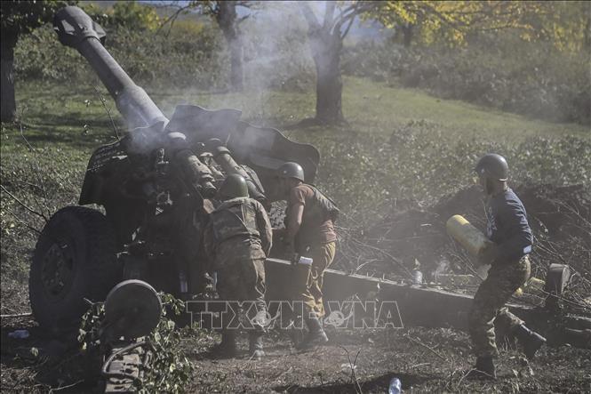 На границе Армении и Азербайджана снова начались бои - ảnh 1