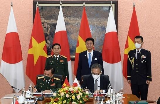Оборонное сотрудничество между Вьетнамом и Японией вступило в новый этап развития - ảnh 1