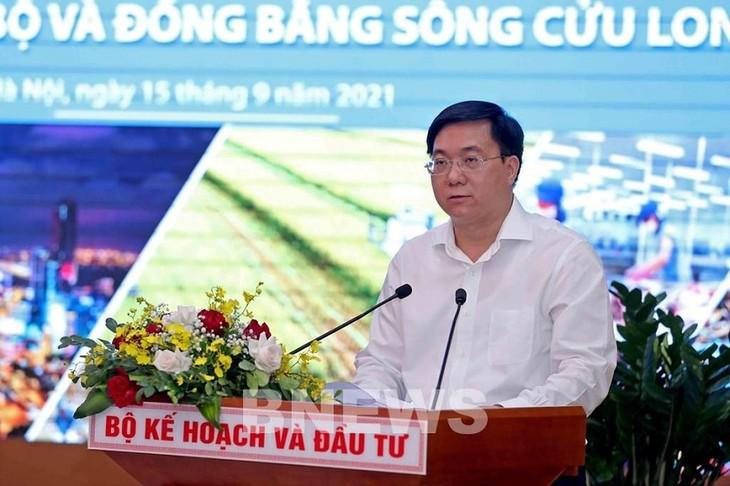 Поиск мер по ускорению социально-экономического развития и увеличению госинвестиций на 2022 год в дельте реки Меконг  - ảnh 2