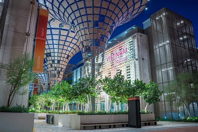 Открытие выставочного зала Вьетнама на ЭКСПО-2020 в Дубае - ảnh 1
