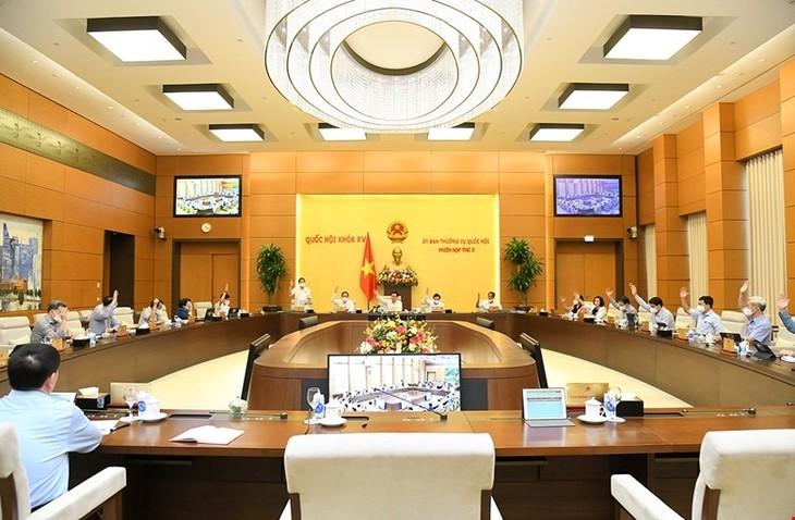 Постоянный комитет Национального Собрания рассмотрел повестку дня 2-й сессии парламента - ảnh 1
