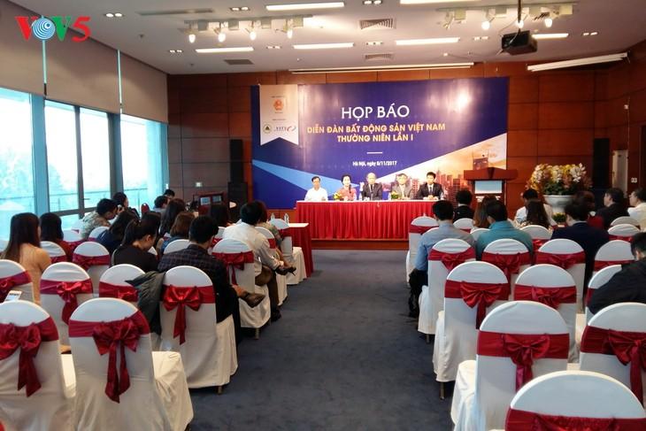 Lần đầu tiên tổ chức Diễn đàn bất động sản Việt Nam - ảnh 1