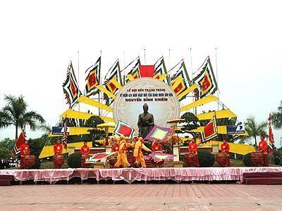 Kỷ niệm 432 năm ngày mất của danh nhân văn hóa Nguyễn Bỉnh Khiêm  - ảnh 1