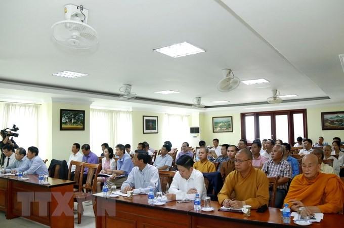 Xây dựng cộng đồng người Việt Nam tại Lào thông qua gắn kết văn hóa tâm linh - ảnh 1