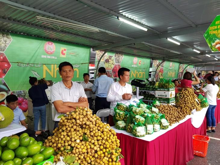 Tuần lễ nhãn và nông sản an toàn tỉnh Sơn La tại Hà Nội - ảnh 1