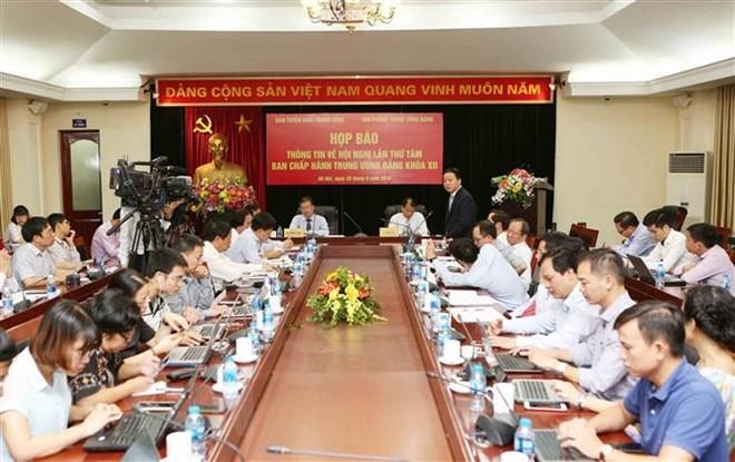 Hội nghị lần thứ tám Ban Chấp hành Trung ương Đảng khóa XII sẽ diễn ra từ ngày 2-6/10 - ảnh 1