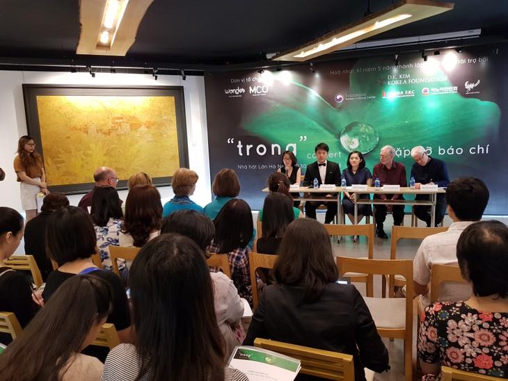 """Nhiều nghệ sĩ quốc tế và Việt Nam trình diễn tại buổi hòa nhạc """"Trong"""" - ảnh 1"""