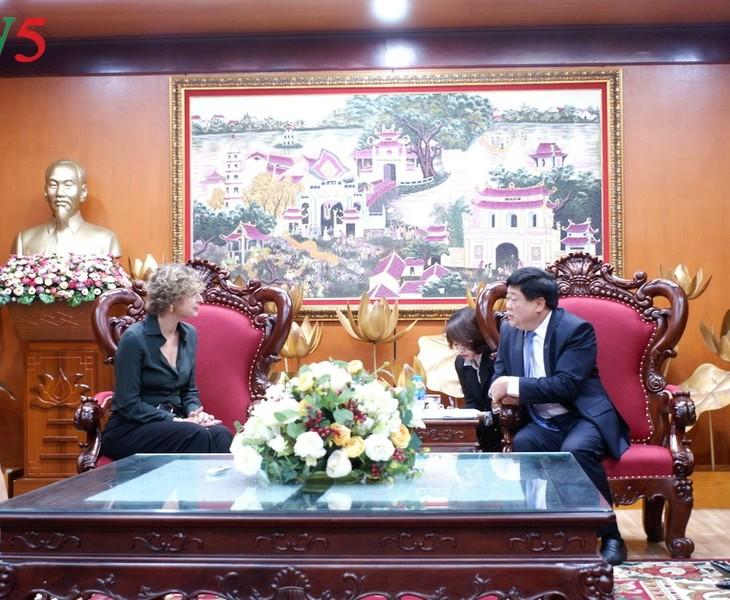 Tăng cường hợp tác trong lĩnh vực báo chí giữa Việt Nam và Hà Lan - ảnh 1