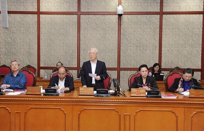 Tổng Bí thư, Chủ tịch nước Nguyễn Phú Trọng: Nghệ An phải là 1 trong những tỉnh Tốp đầu của cả nước - ảnh 1
