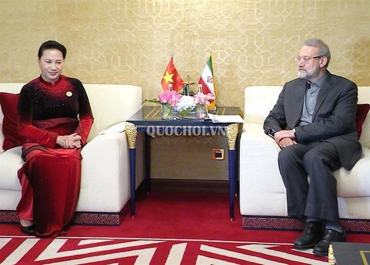 Việt Nam luôn coi trọng quan hệ hữu nghị và hợp tác cùng có lợi với Iran - ảnh 1