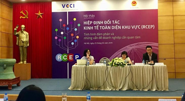 Doanh nghiệp cần cải thiện năng lực cạnh tranh khi Việt Nam tham gia RCEP - ảnh 1