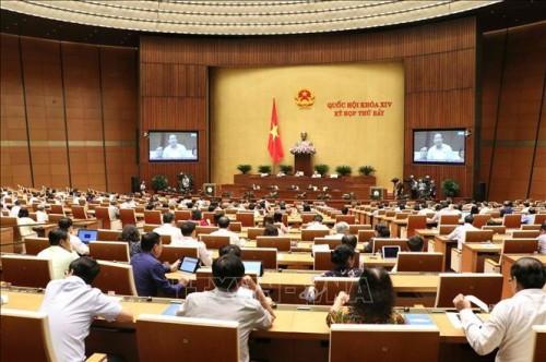 Tuần làm việc thứ 3 của kỳ họp thứ 7, Quốc hội khóa XIV - ảnh 1