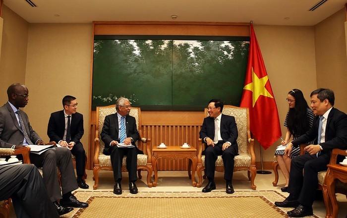 Mong muốn các nhà tài trợ quốc tế tiếp tục hỗ trợ Việt Nam - ảnh 1