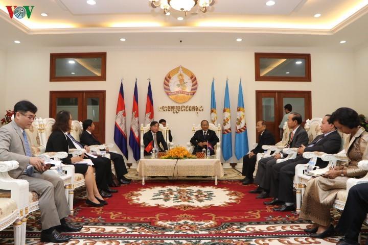 Việt Nam và Campuchia tăng cường trao đổi kinh nghiệm về công tác đảng - ảnh 1