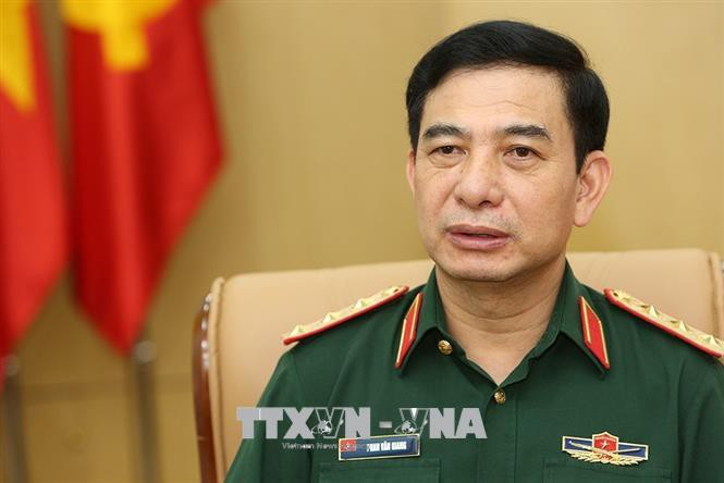 Đoàn đại biểu Quân sự cấp cao QĐND Việt Nam thăm Campuchia - ảnh 1
