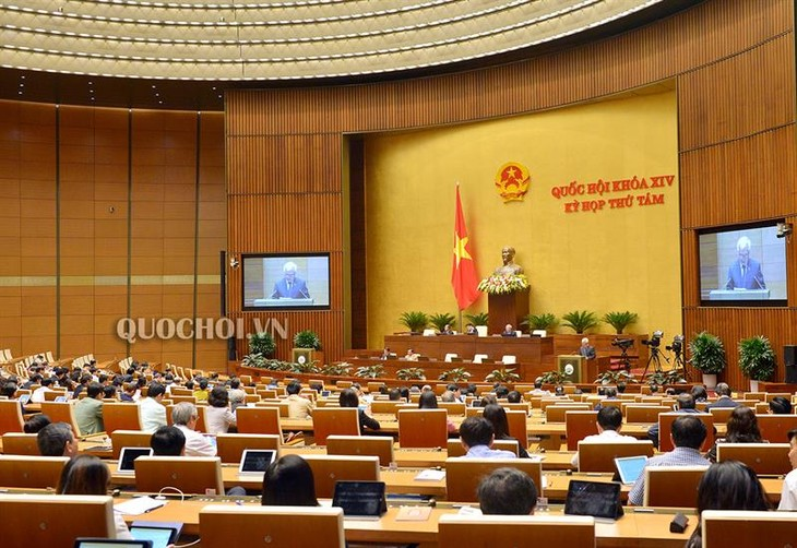 Quốc hội nghe thẩm tra dự án Luật Thanh niên (sửa đổi) - ảnh 1