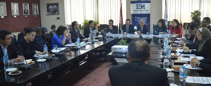 Việt Nam - Ai Cập tăng cường hợp tác kinh tế và thương mại - ảnh 1