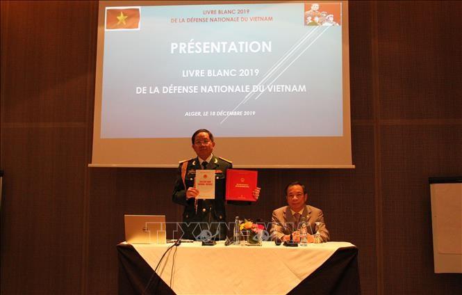 Công bố Sách Trắng Quốc phòng Việt Nam tại Algeria - ảnh 1