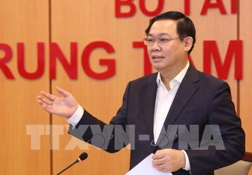 Phó Thủ tướng Vương Đình Huệ chủ trì cuộc họp của Hội đồng tư vấn chính sách, tài chính, tiền tệ quốc gia - ảnh 1