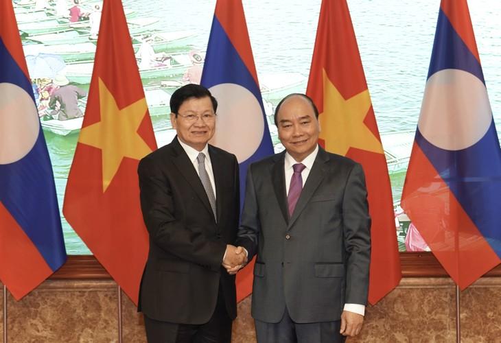 Vietnam y Laos debaten estrategia de cooperación para el próximo decenio - ảnh 1