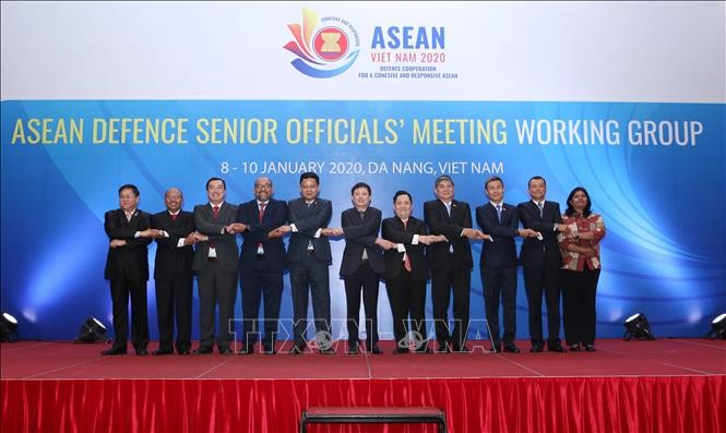 Khai mạc Hội nghị Nhóm làm việc Quan chức Quốc phòng Cấp cao ASEAN  - ảnh 1