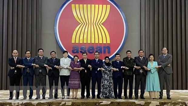 Việt Nam chủ trì cuộc họp đầu tiên Ủy ban các đại diện thường trực tại ASEAN - ảnh 1