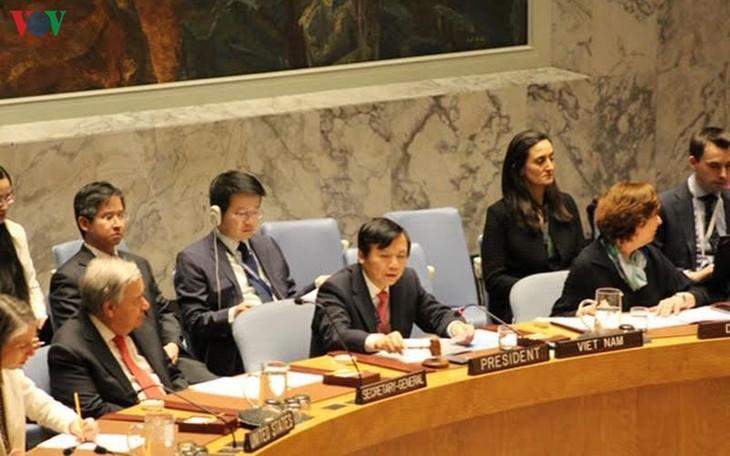 Việt Nam có sự ủng hộ của tất cả các nước thành viên Hội đồng bảo an Liên hợp quốc - ảnh 1