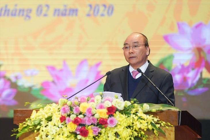 Thủ tướng Nguyễn Xuân Phúc dự Lễ kỷ niệm 70 năm thành lập tỉnh Vĩnh Phúc - ảnh 1