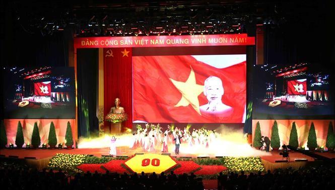 Điện mừng của các đảngnhân dịp Kỷ niệm 90 năm Ngày thành lập Đảng Cộng sản Việt Nam - ảnh 1
