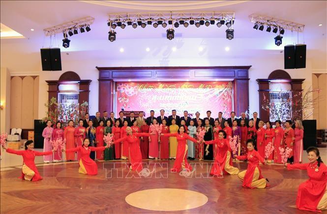 Câu lạc bộ đồng hương Xieng Khouang ở Thủ đô Vientiane gặp mặt đầu Xuân Canh Tý - ảnh 1