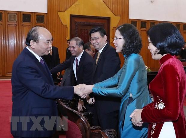 Thủ tướng Nguyễn Xuân Phúc gặp mặt các Đại sứ, Trưởng cơ quan đại diện Việt Nam mới được bổ nhiệm - ảnh 1