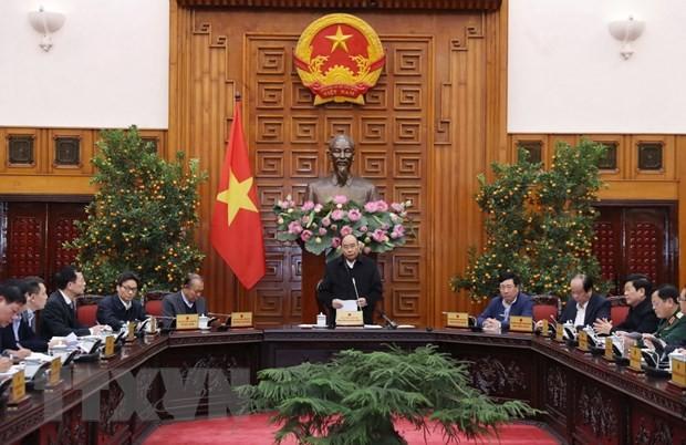 Thủ tướng Nguyễn Xuân Phúc: Triển khai ngay các giải pháp giảm thiểu tác động của dịch bệnh đối với nền kinh tế - ảnh 1