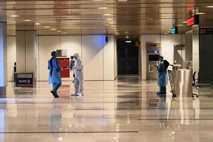 Sẵn sàng đón công dân Việt Nam về nước qua Cảng hàng không quốc tế Vân Đồn - ảnh 1