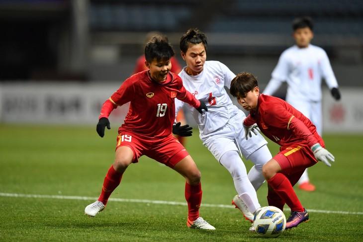 Đội tuyển bóng đá nữ Việt Nam vào vòng play-off Olympic Tokyo 2020 - ảnh 1