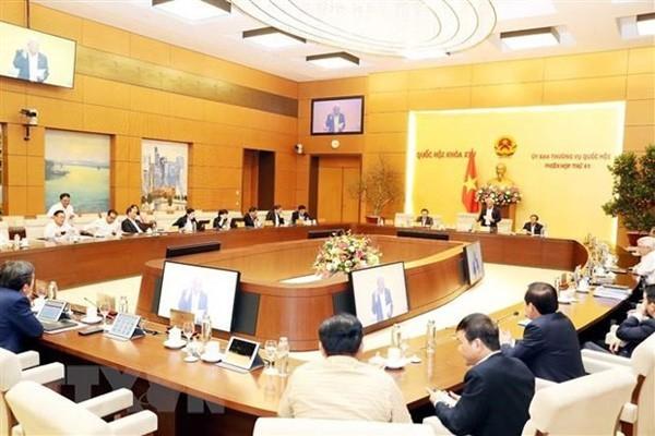 Ngày 10/2, khai mạc Phiên họp thứ 42 của Ủy ban Thường vụ Quốc hội  - ảnh 1